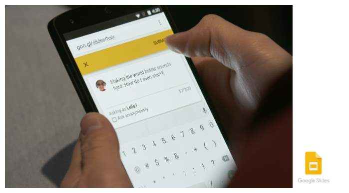 Google Slides se actualiza con función que permite conversar con la audiencia