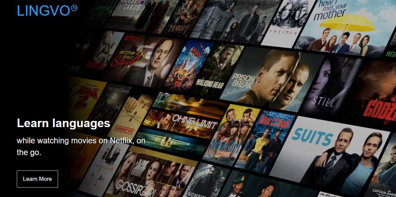 lingvo, para aprender idiomas mientras vemos Netflix
