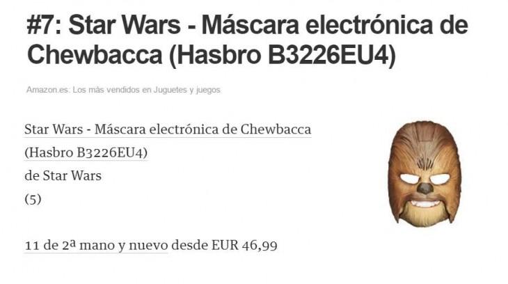 La máscara más vendida en Amazon