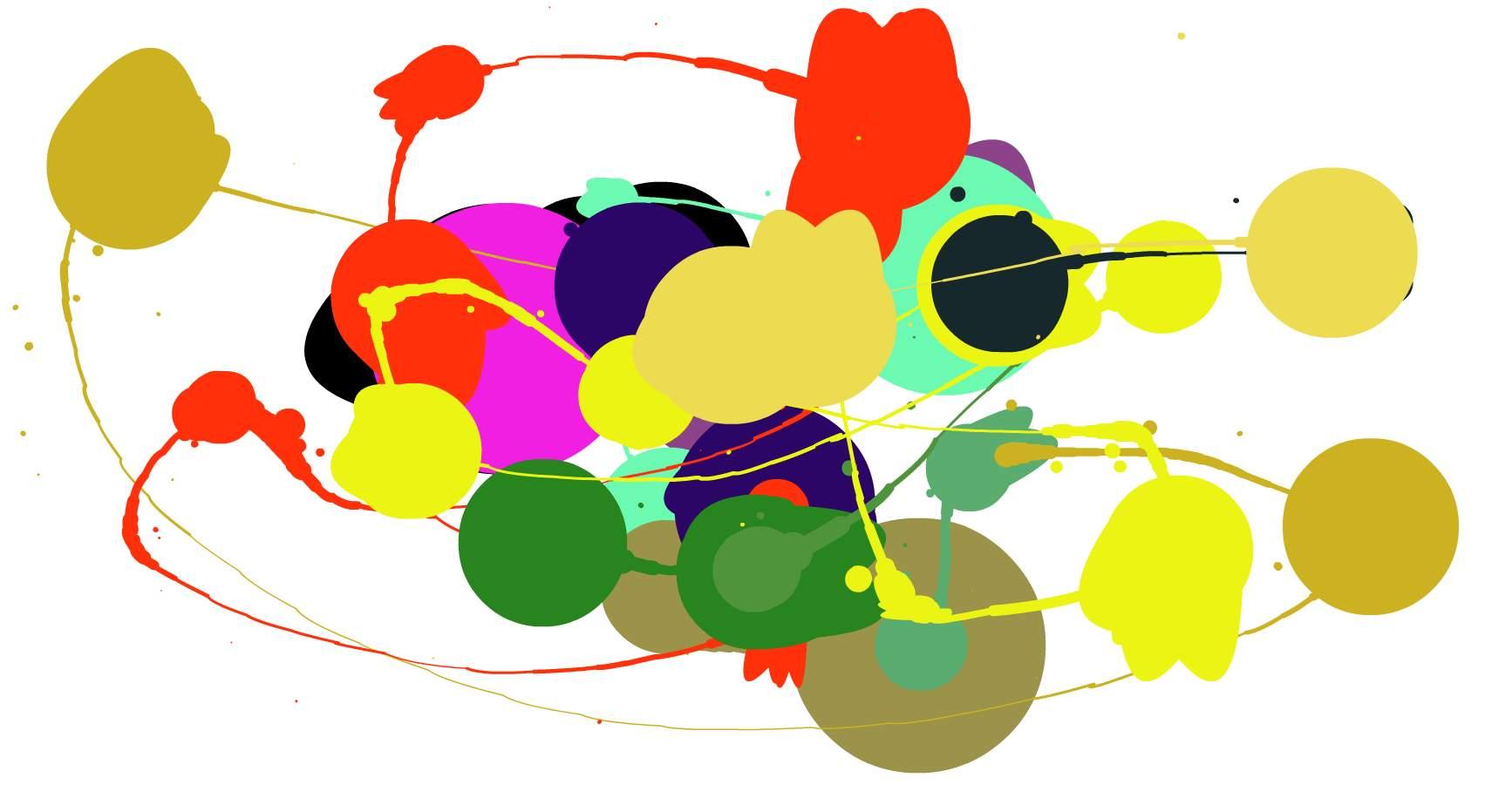 Dos sitios web para crear expresionismo abstracto, a lo Pollock