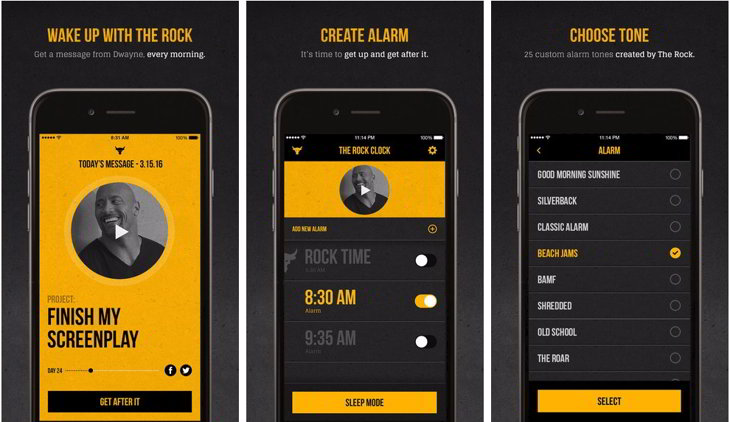 the rock alarma