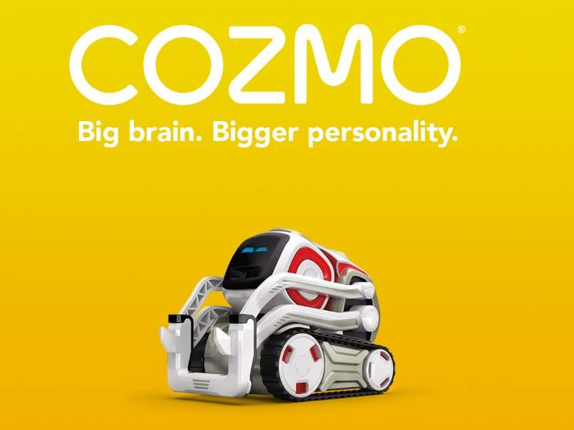 Cozmo, un nuevo robot que parece salido de una película de Disney