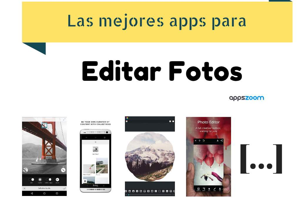 Las mejores apps para editar fotos