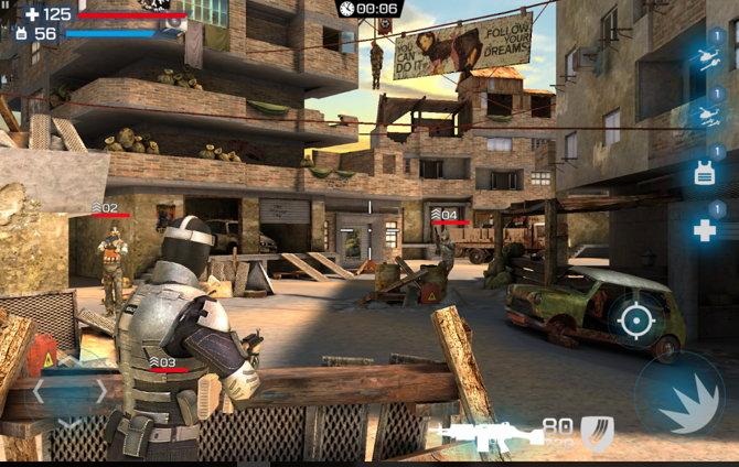 5 De Los Mejores Juegos De Disparos Multijugador Para Android Gratis