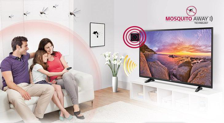 tv lg mosquitos