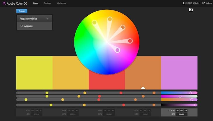 Dos herramientas gratuitas para escoger colores que combinen bien