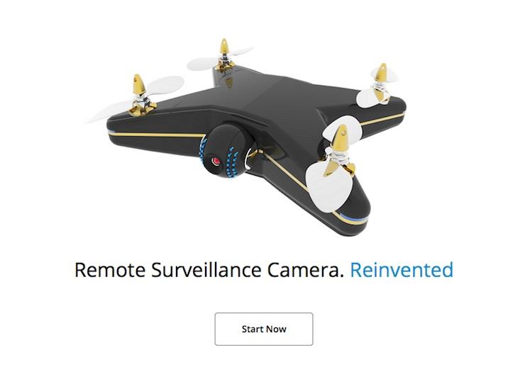 Cardinal, un dron autónomo para vigilar el hogar
