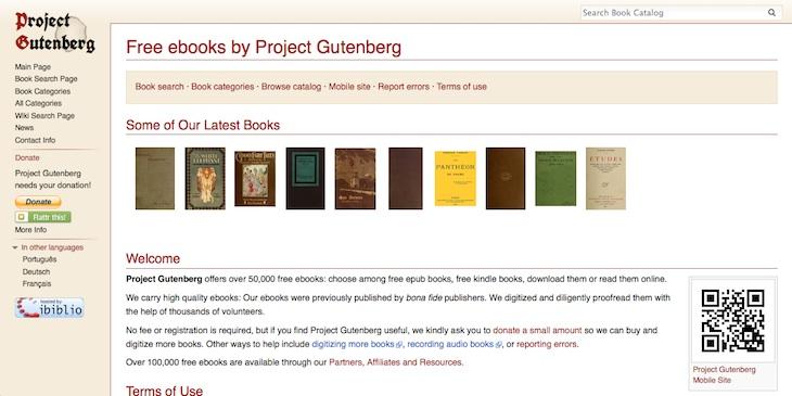 3 páginas para descargar clásicos de la literatura de forma completamente gratuita