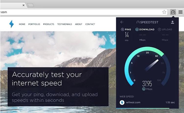 Una manera simple de medir la velocidad de conexión a internet desde Chrome