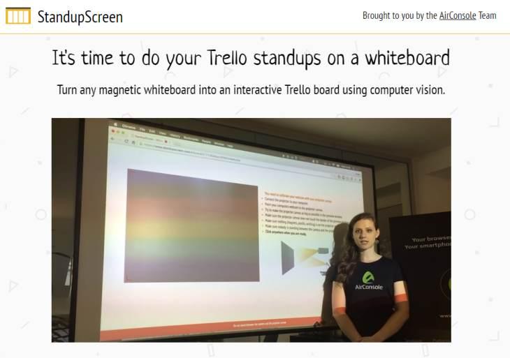 StandupScreen