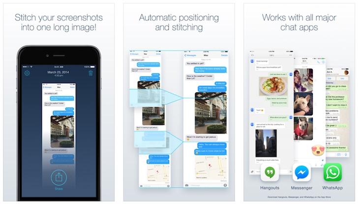 Tres alternativas para unir varias capturas de pantalla desde tu smartphone