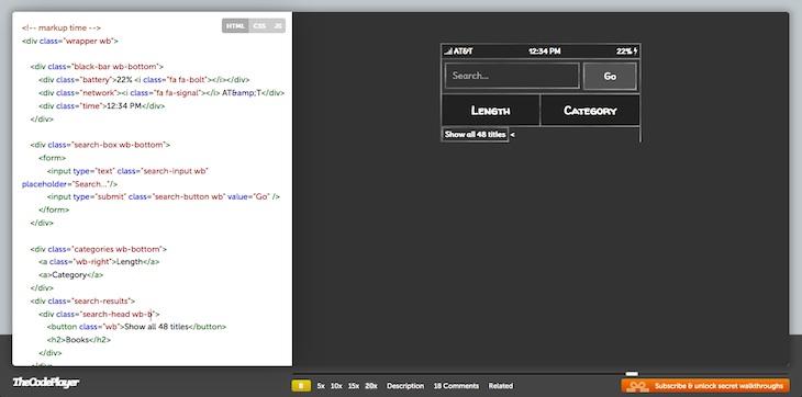 TheCodePlayer, tutoriales en vídeo de proyectos relacionados con la programación