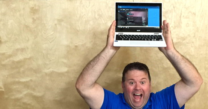 aplicaciones windows chromebook