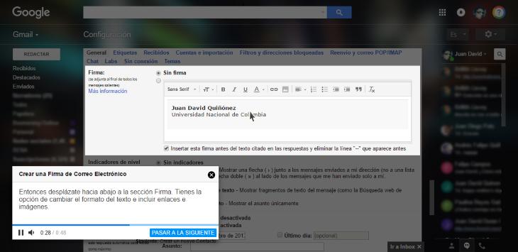 guias paso a paso gmail