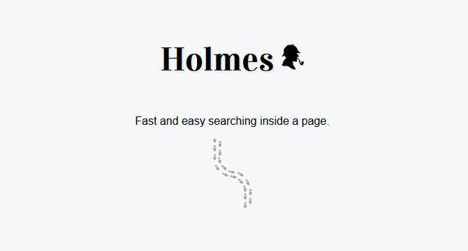 Holmes: Librería De Búsqueda Rápida