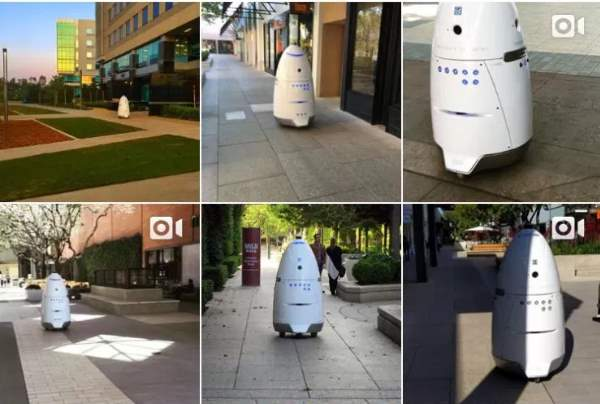 Uber contrata a un robot para vigilar su parking