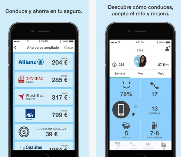 Drivies, una app que nace para ayudarnos a mejorar nuestra forma de conducir