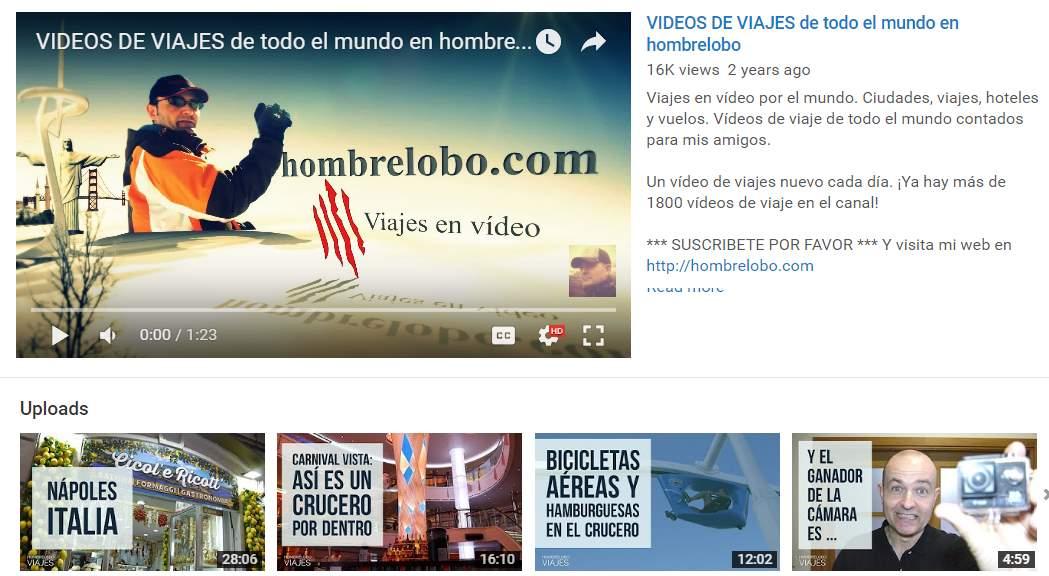 Los mejores canales de viajes de YouTube en castellano