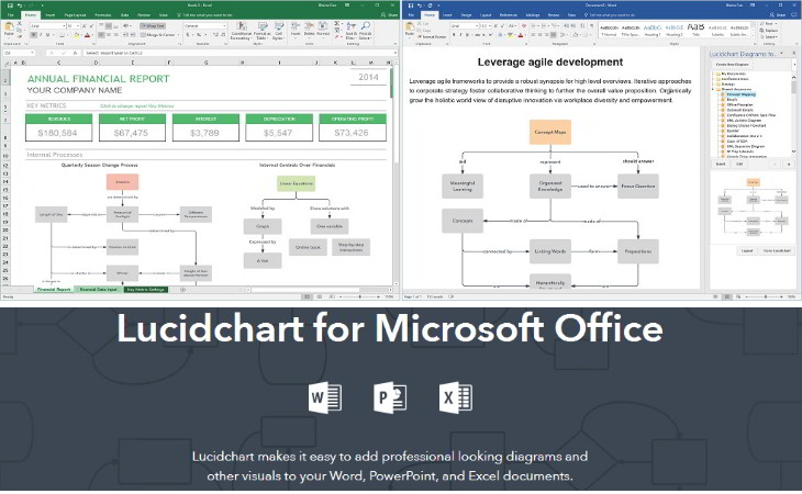 lucidchart diagramas office