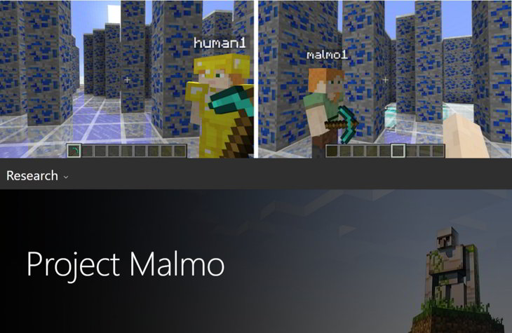 project malmo minecraft