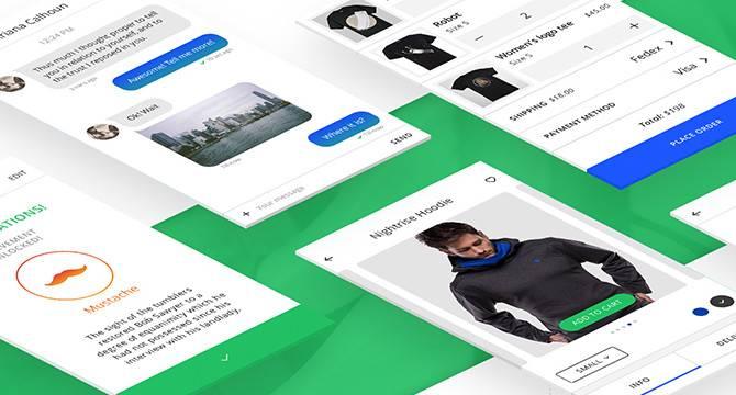 VSApp: Kit De UI Para Móviles Y Web
