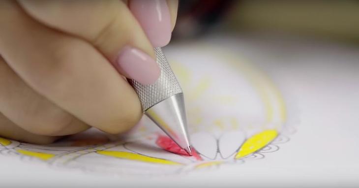 CRONZY Pen, un boli para capturar cualquier color y utilizarlo sobre papel