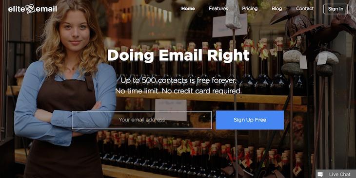 EliteEmail, para crear newsletters profesionales arrastrando y soltando elementos
