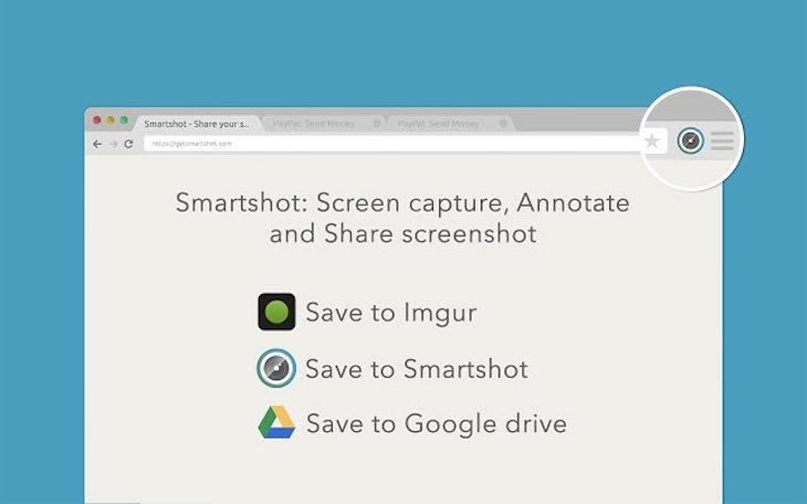 Smartshot, para hacer capturas de pantalla con anotaciones y compartirlas