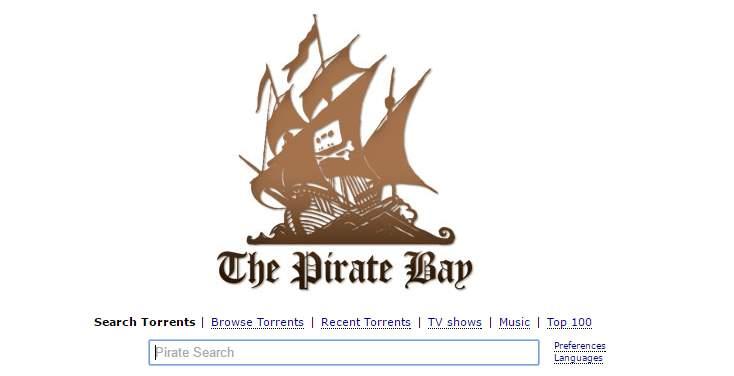 The Pirate Bay vuelve a ser el rey de los buscadores de Torrents