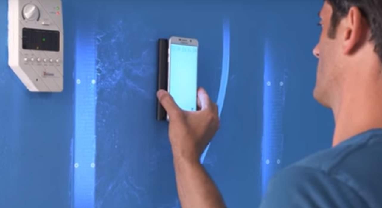 Un dispositivo para ver dentro de las paredes usando el móvil