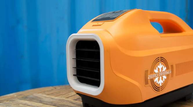 Zero breeze un aparato de aire acondicionado port til que for Aire acondicionado oficina