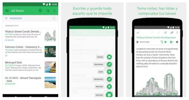 6 aplicaciones Android para realizar anotaciones en clase