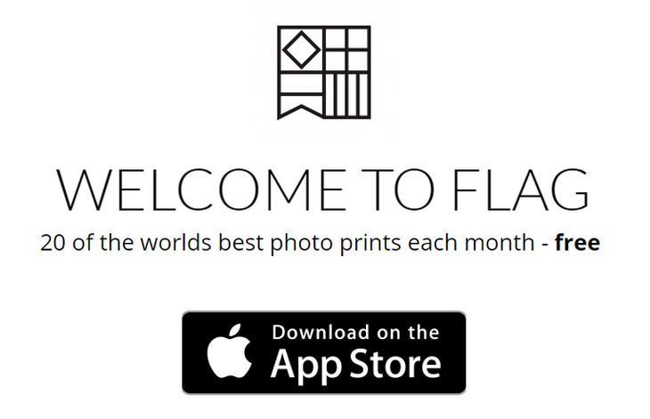 Flag, app que promete el envío de 20 impresiones fotográficas gratis ...