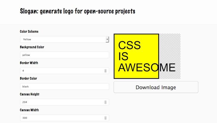 Slogan, una sencilla web para generar logos en cuestión de minutos