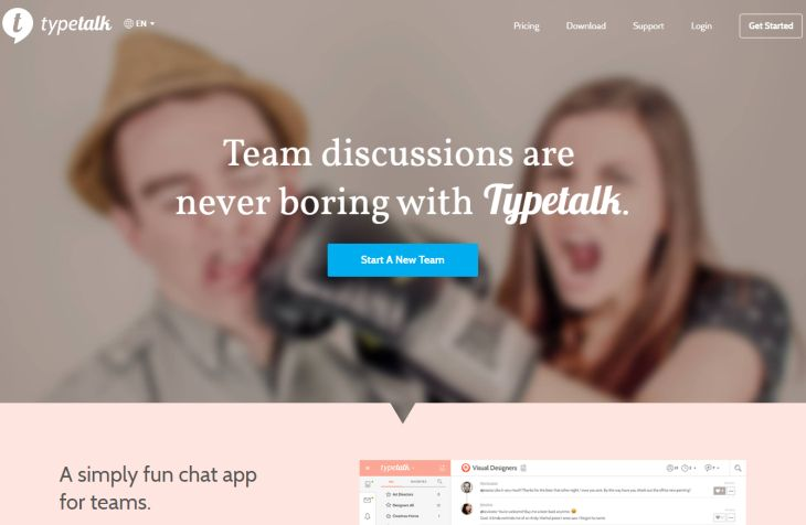 Typetalk, una interesante alternativa a Slack