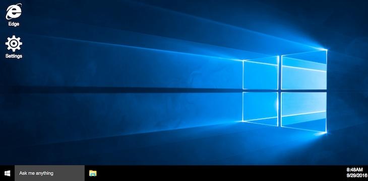 Crean una réplica de Windows 10 que funciona en cualquier navegador web moderno