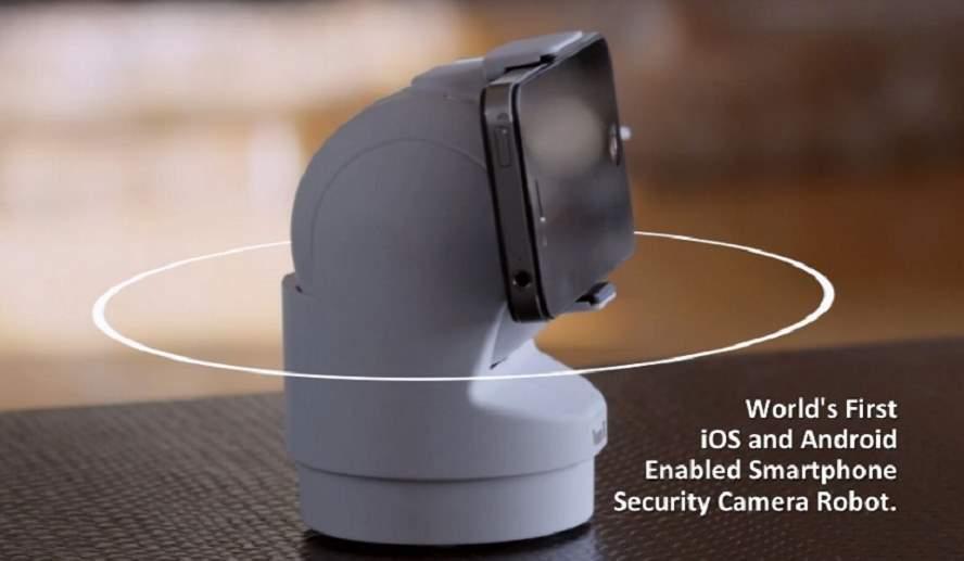 Usando un móvil viejo como cámara de seguridad