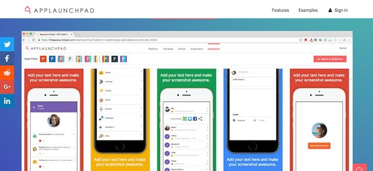 Dos webs para diseñar imágenes de apps para Google Play y la App Store