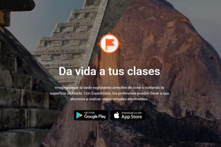 Google Expeditions llega a España