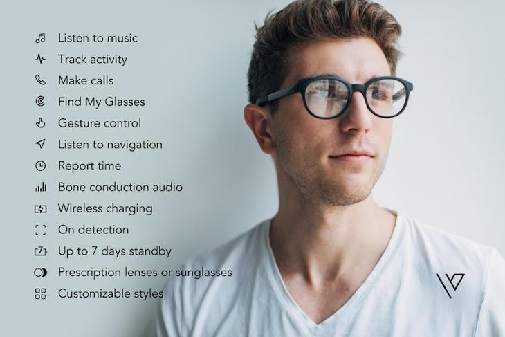 Vue, unas gafas inteligentes con aspecto de gafas tradicionales