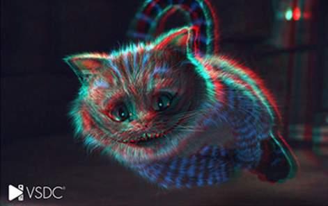 Creación de efectos 3D con VSCD