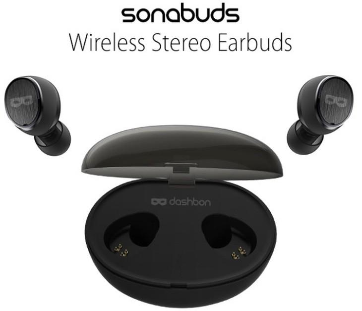 SonaBuds, auriculares estéreo inalámbricos con micrófono integrado