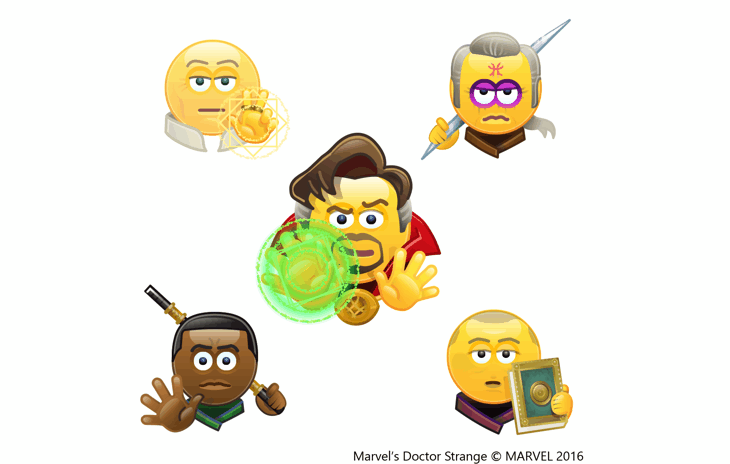 doctor-strange-emoticons