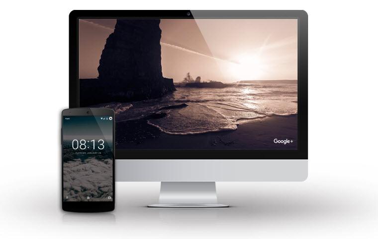 Ya podemos ver las fotos destacadas de Google+ como salvapantallas en Mac y Android