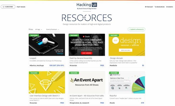 Dos sitios recopilatorios de herramientas y recursos para el diseño
