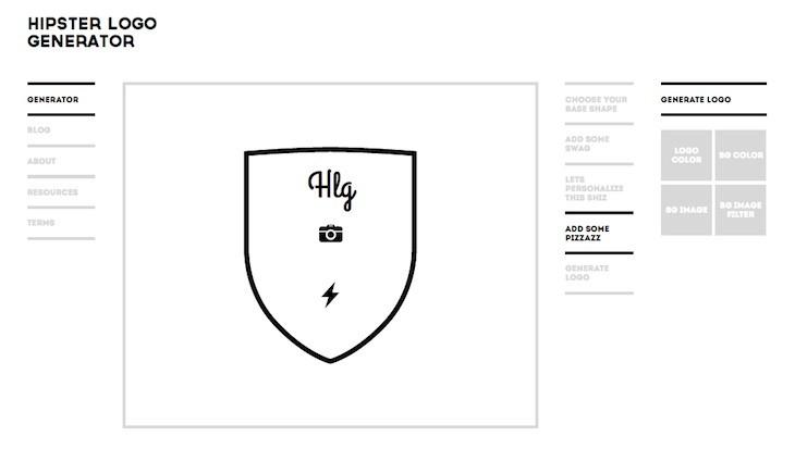 hipster-logo-generator
