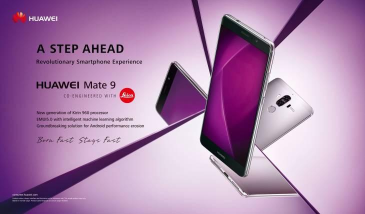 Huawei presenta Mate 9, su nuevo gama alta con impresionantes características