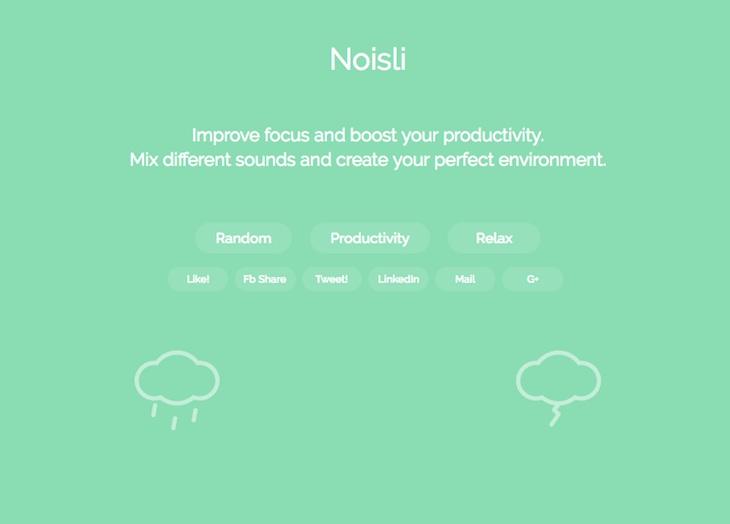 Tres sitios web con sonidos relajantes para trabajar o estudiar