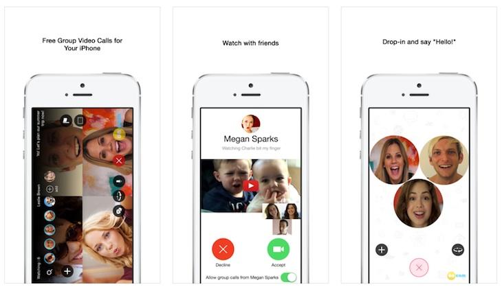 Oncam, app para hacer videollamadas con varios usuarios y ver vídeos juntos