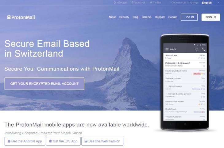ProtonMail dobla el número de registros desde la victoria de Trump